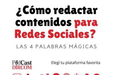 ¿Cómo redactar contenidos para Redes Sociales?