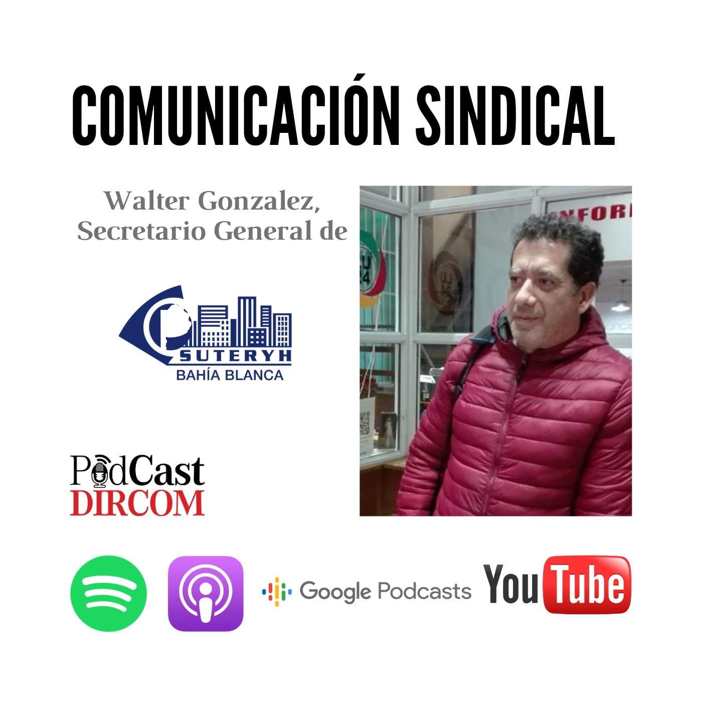 Comunicación Sindical Suteryh Walter Gonzalez