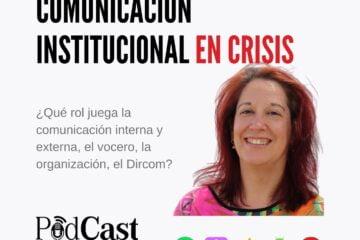 Comunicación Institucional en crisis